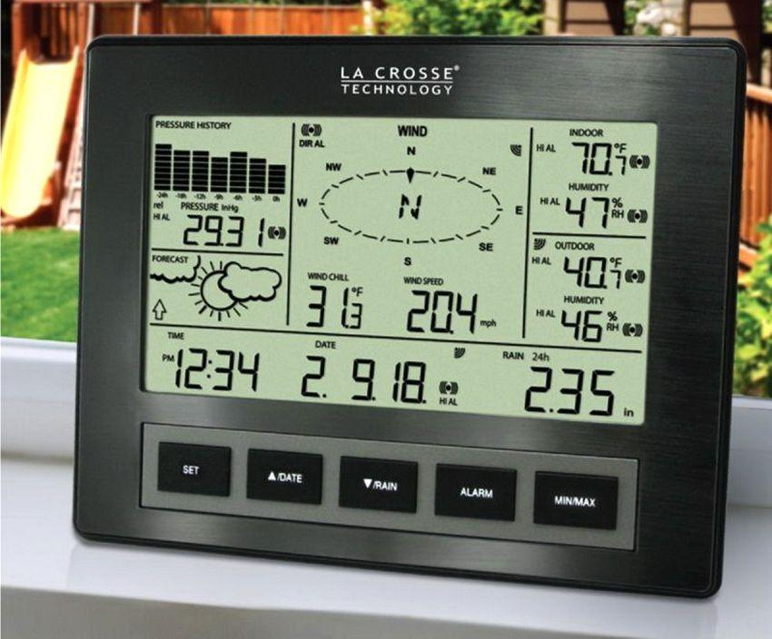 Профессиональная модель метеостанции производства La Crosse