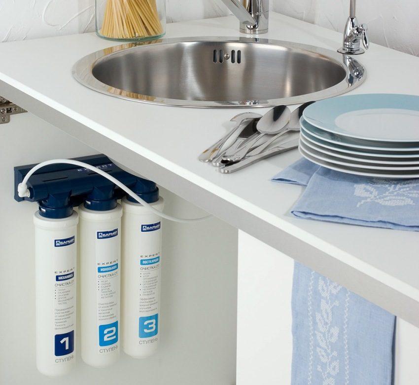 Фильтрующая установка обеспечит всю семью чистой водой