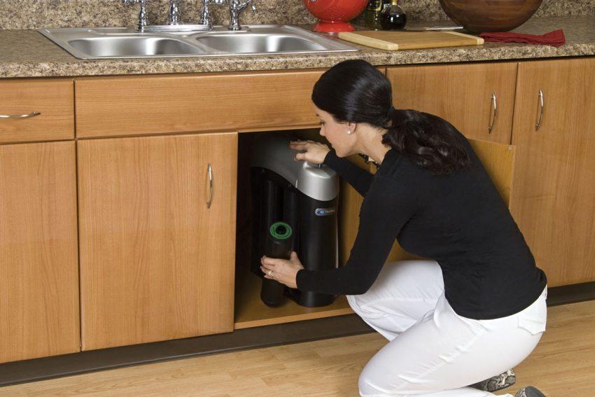 Некоторые фильтры не только очищают, но и смягчают воду