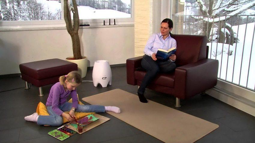 Увлажнитель воздуха для детских комнат Boneco Air-O-Swiss E2441A