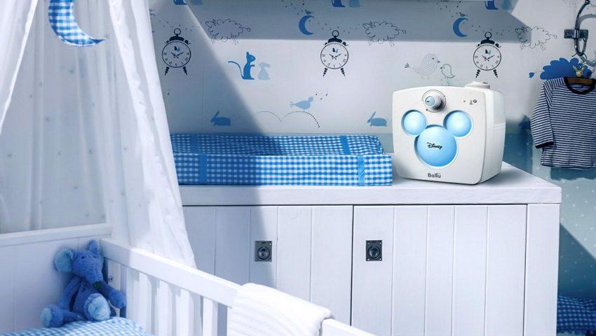 Ультразвуковой увлажнитель Ballu UHB-240 Disney создан специально для использования в детской комнате