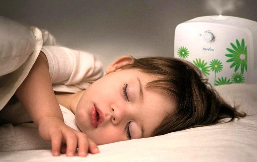 Увлажнители воздуха для детской комнаты чаще всего имеют функцию очистки