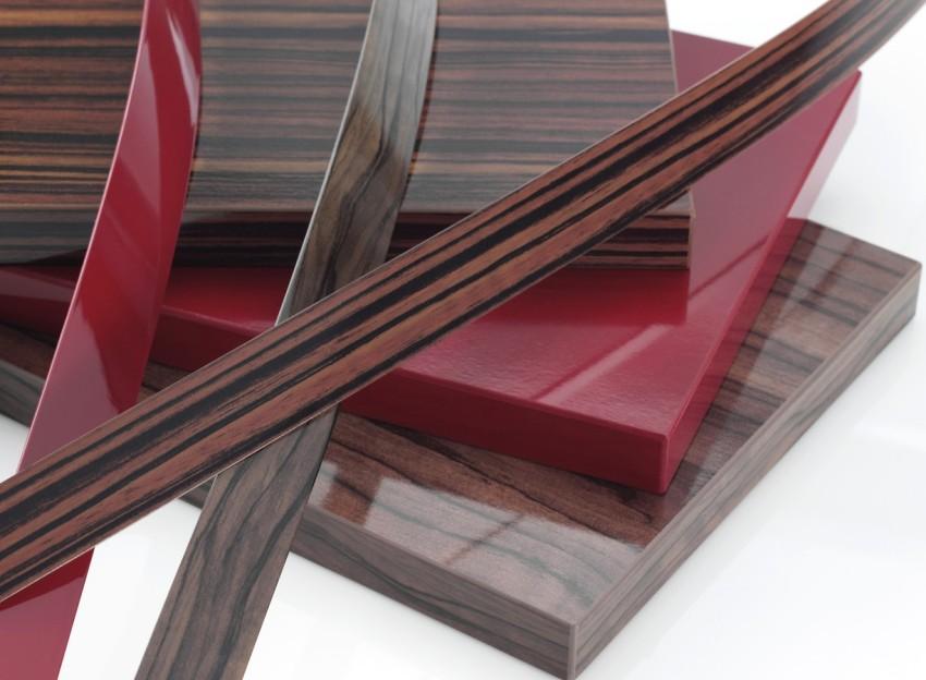 Ламинированная ДСП используется для оформления мебельных фасадов