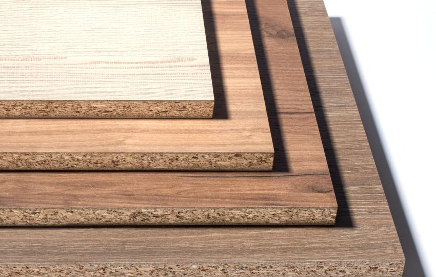 Декоративное покрытие может имитировать различные древесные породы