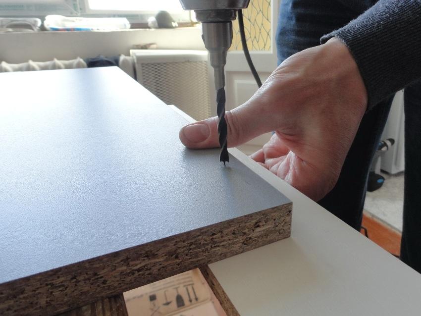 ДСП с облицовкой бумажно-слоистым пластиком используют в качестве кухонных столешниц