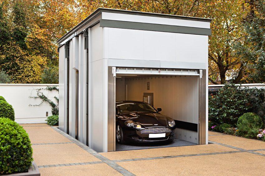 Ворота должны быть надежными и защищать гараж от взлома
