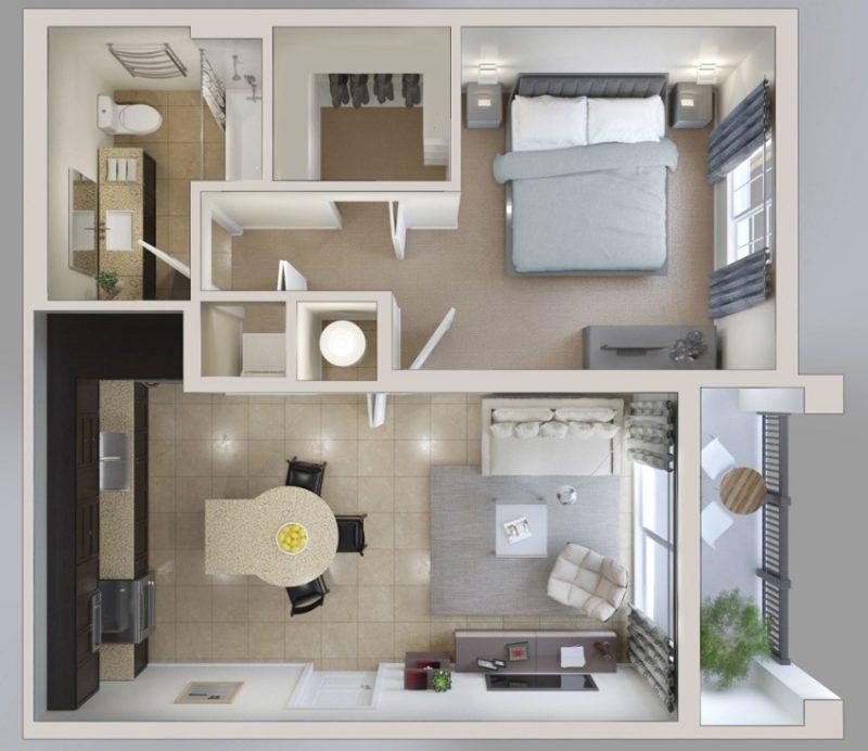 Планировка комнаты своими руками 12
