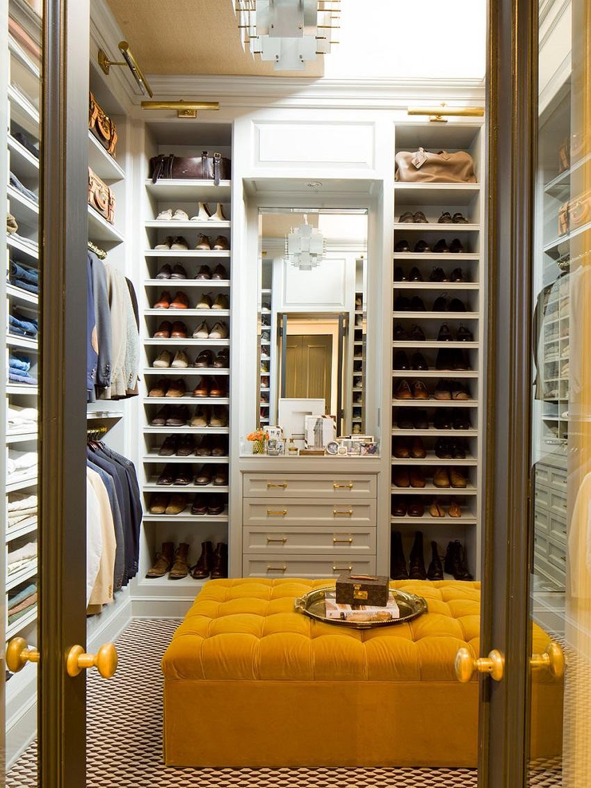 Отдельная зона для хранения вещей в квартире