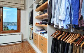 Гардеробные комнаты: фото, дизайн-проекты и примеры комфортной организации