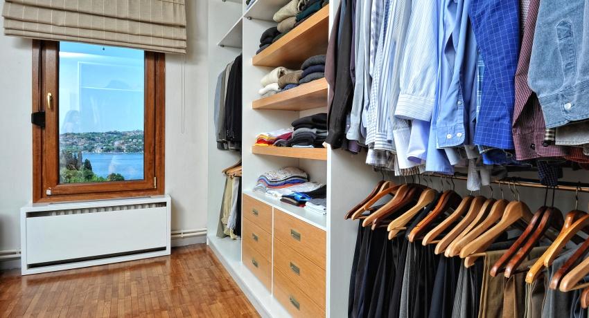 Гардеробные комнаты: фото, дизайн-проекты и примеры комфортного обустройства