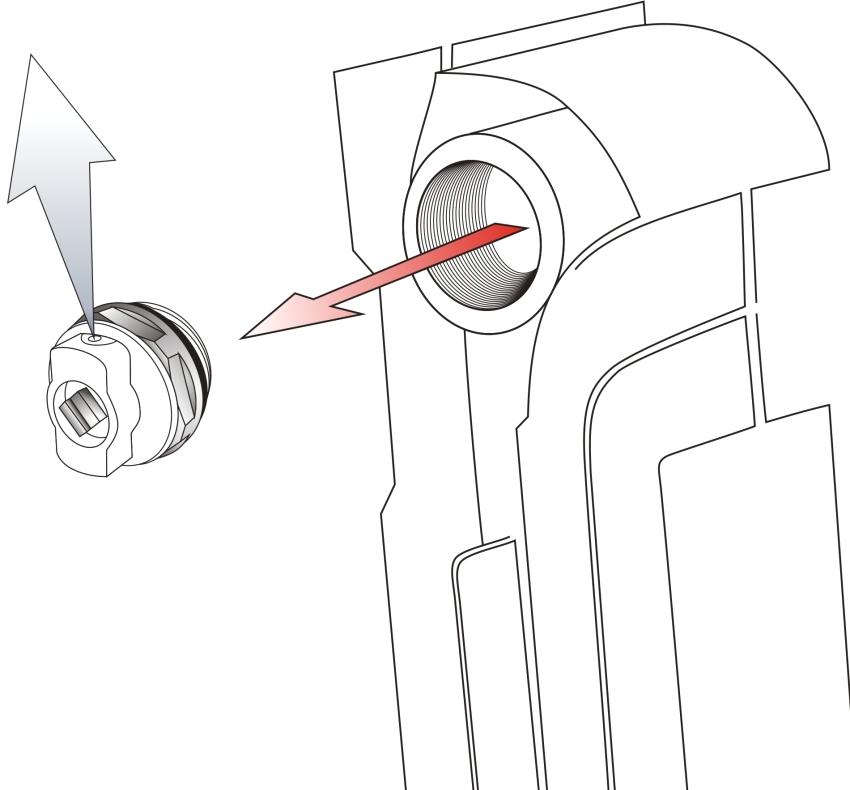 Конструкция и принцип работы клапана Маевского