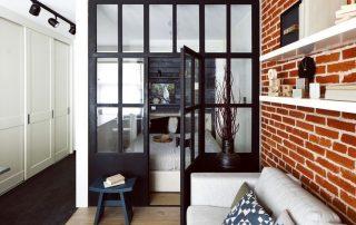 Перегородки для зонирования пространства в комнате: специфичность применения