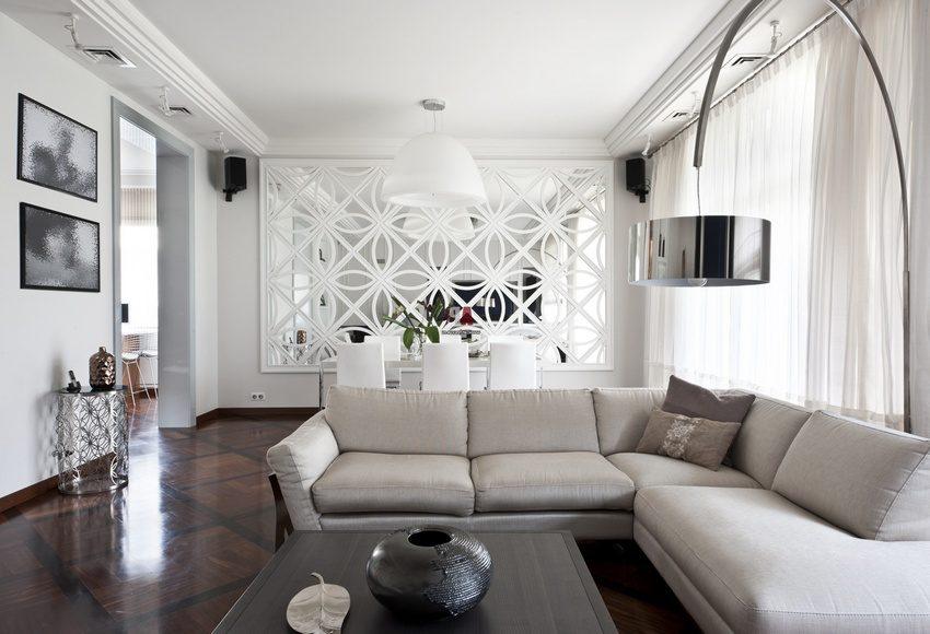 С помощью декоративных перегородок можно создать неповторимый интерьер помещения