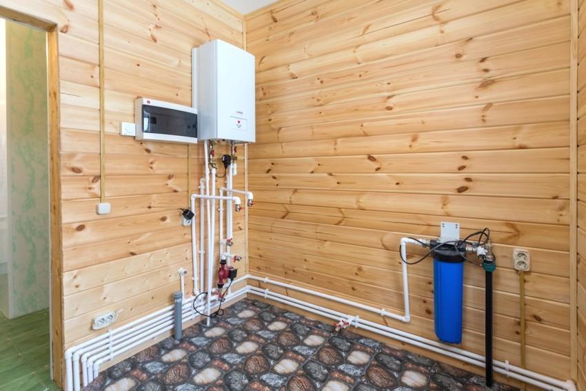 Магистральный фильтр для очистки воды в частном доме