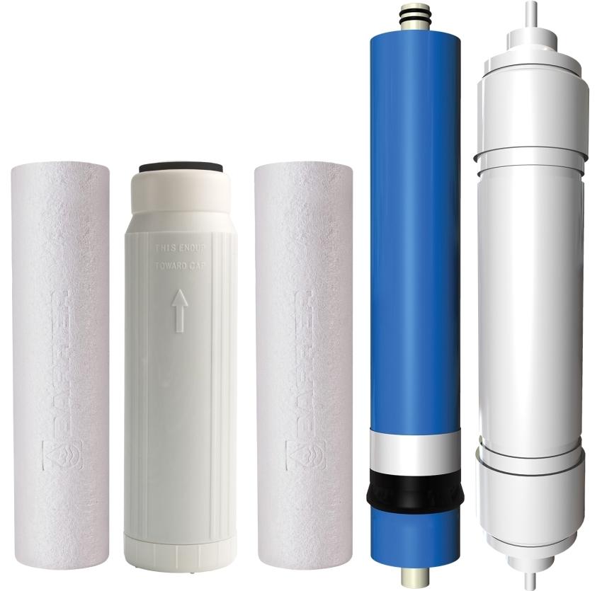 Разновидности сменных картриджей для фильтров