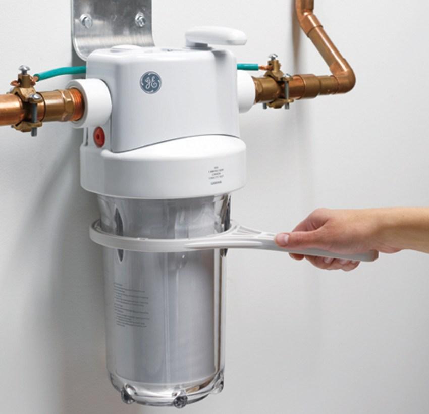 Монтаж проточного фильтра для воды своими руками