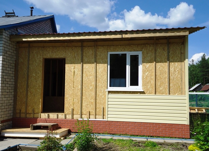 Как сделать кирпичную пристройку к старому дому