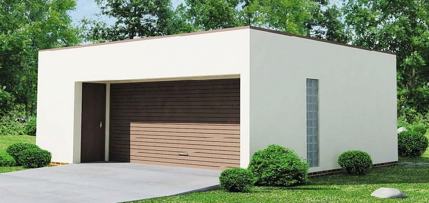 Готовый гараж из СИП-панелей