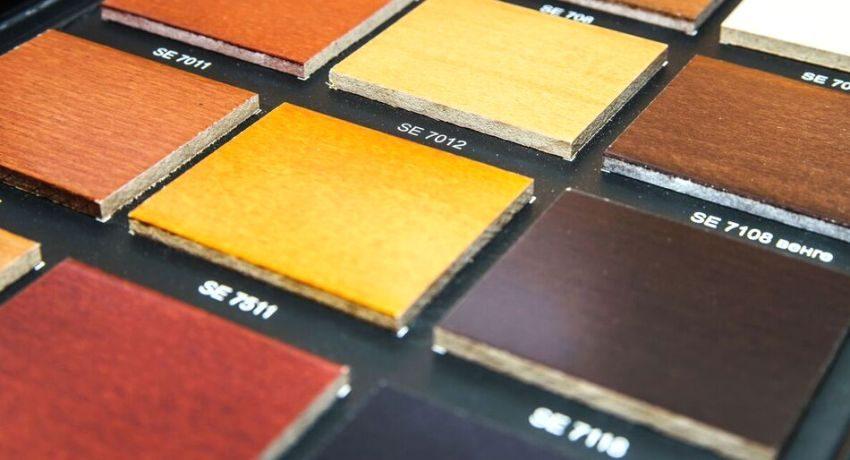 МДФ-панели могут окрашиваться в различные цвета