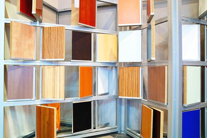 Варианты расцветок стеновых панелей производителя Кроностар