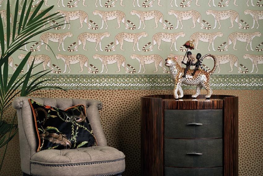 Пример бордюра для стилизованного кабинета