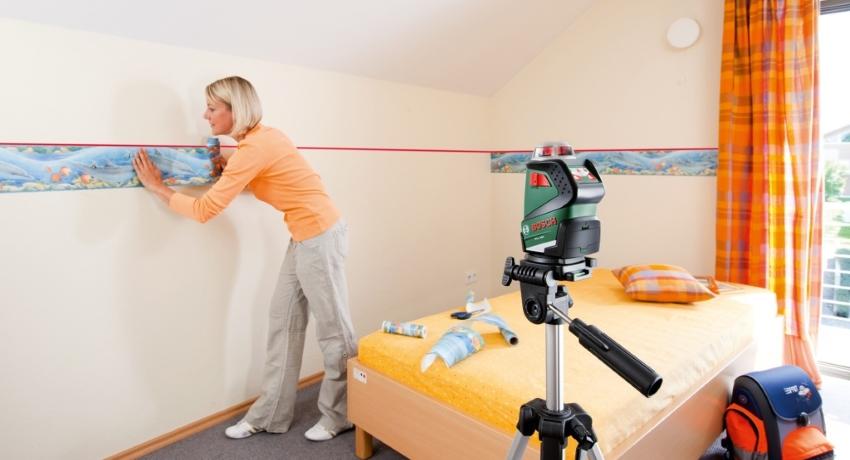 Бордюр для обоев: советы по выбору и размещению окантовки на стенах