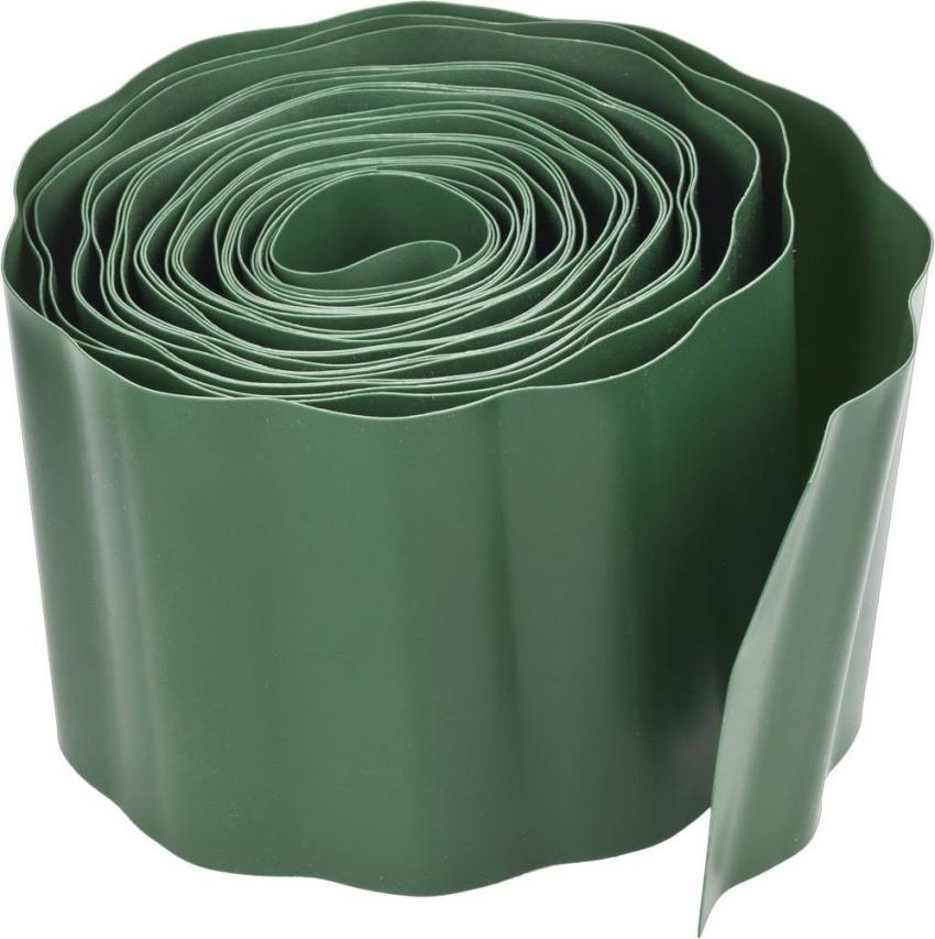 Садовая лента - этогибкий бордюр, изготовленный на основе ПВХ