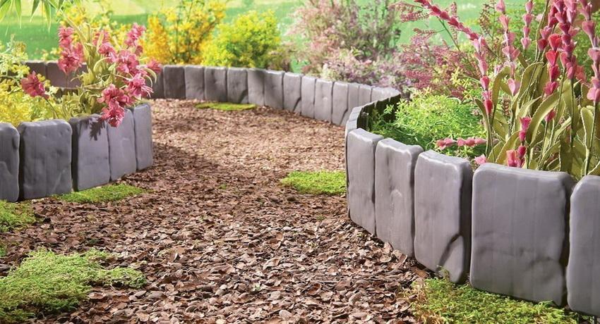 Бордюрная лента для грядок: красивое обрамление садовых элементов