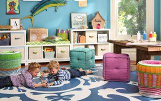 Детская комната для двоих детей: варианты планировки и фото ярких интерьеров
