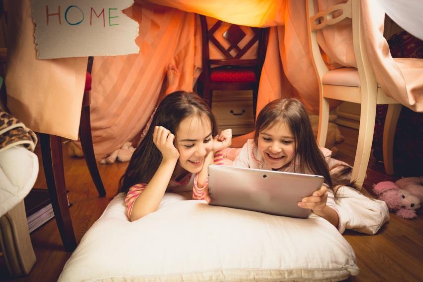 Детям необходимо личное пространство для уединения и активных игр