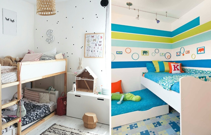 Мобильные мебельные конструкции позволяют передвигать кровати в любое удобное место