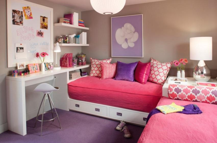 Маленькая, но уютная детская комната