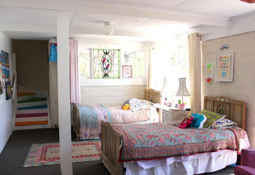 Детскую комнату желательно обустраивать на солнечной стороне