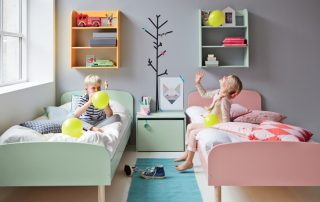 Детская комната для мальчика и девочки: продумываем все до мелочей