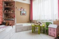 Выдвижные шухляды для хранения вещей под детскими кроватями