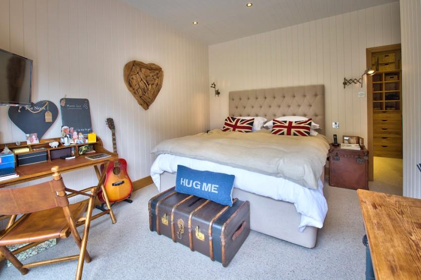 Современный интерьер комнаты мальчика-подростка