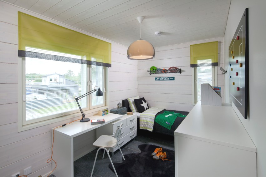 В комнате подростка обязательно должно быть комфортное рабочее место