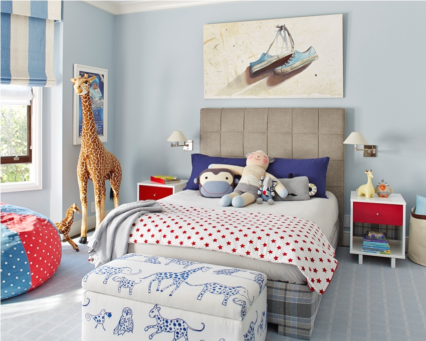 Небольшая детская комната может быть комфортной и функциональной