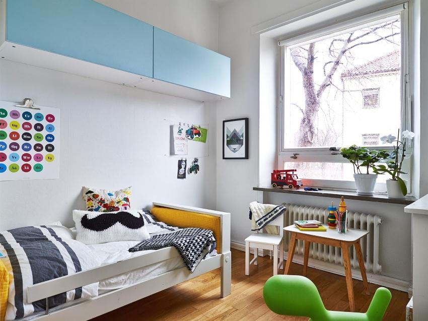 Стиль минимализм в оформлении детской комнаты
