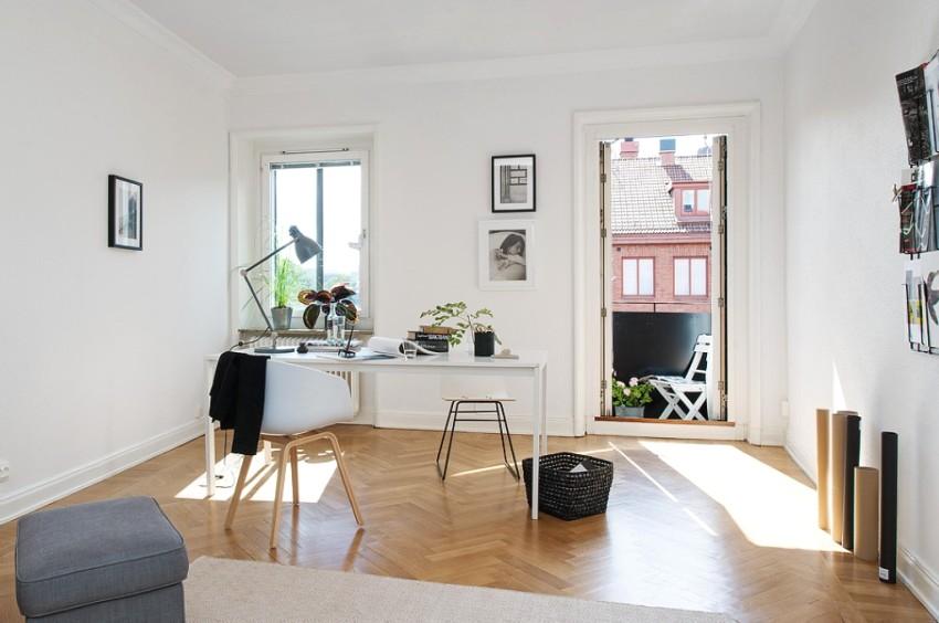 Стилю минимализм присущ минимальный набор отделочных материалов, мебели и элементов декора