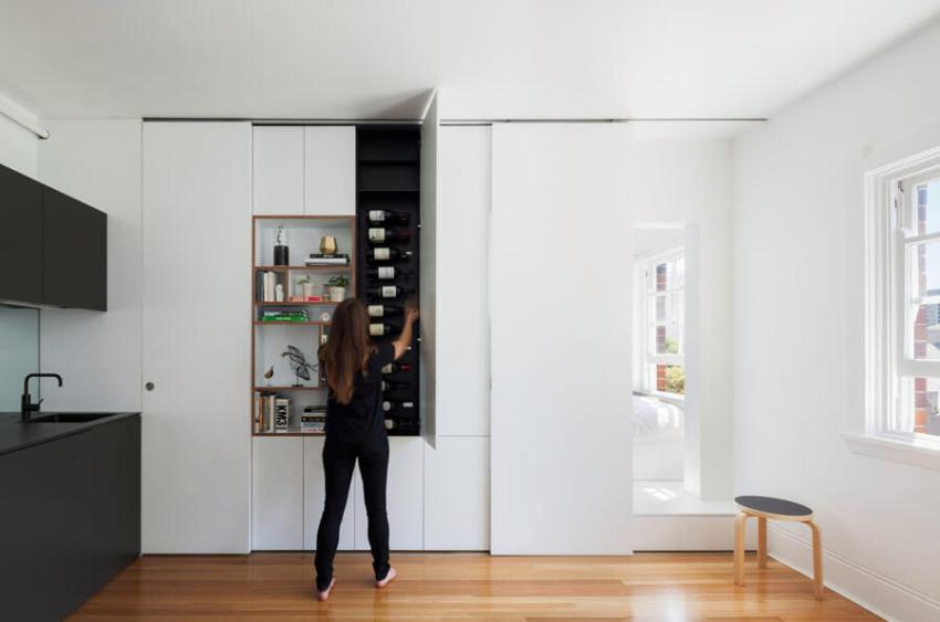 Мебель-трансформер может менять облик комнаты