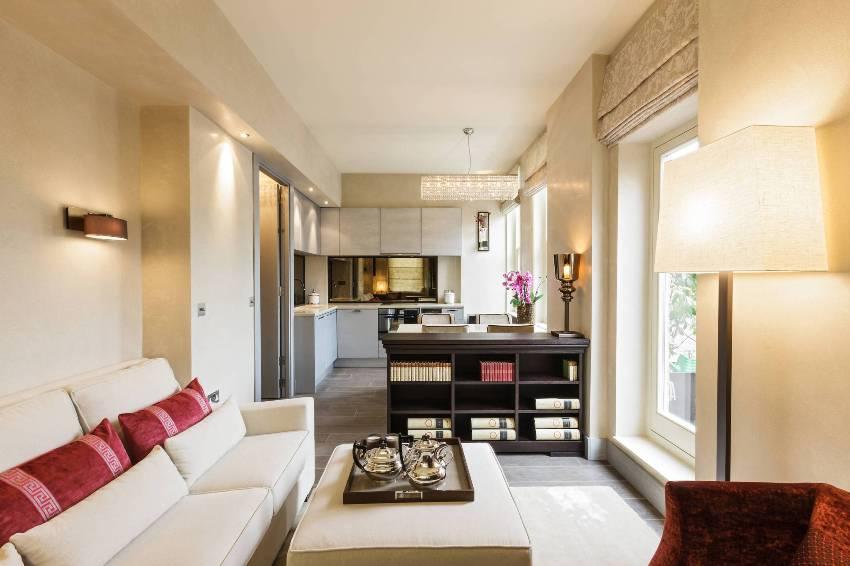 Классический стиль квартиры-студии