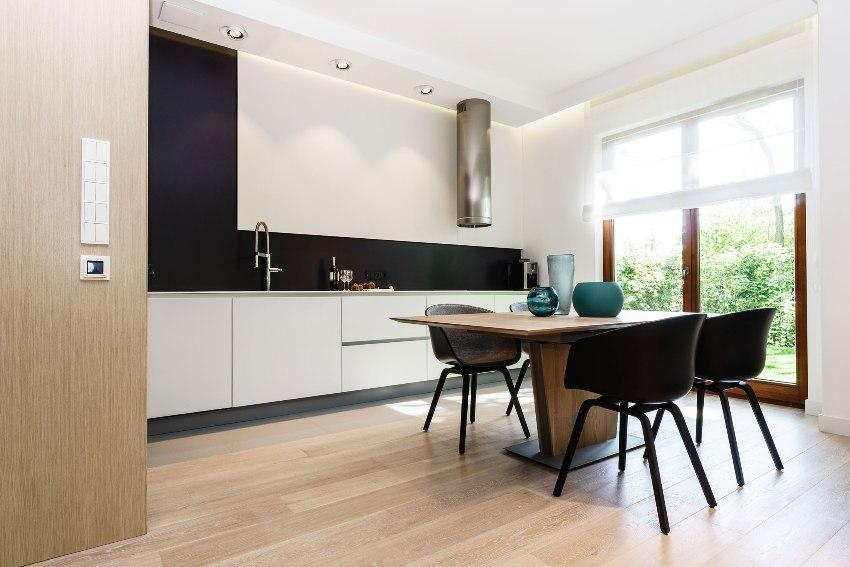 Современый стиль хай-тек в интерьере квартиры