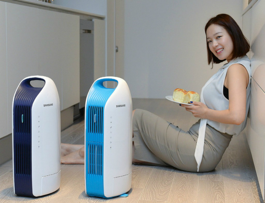 Мобильный напольный кондиционер можно легко перенести в другую комнату или взять с собой на дачу
