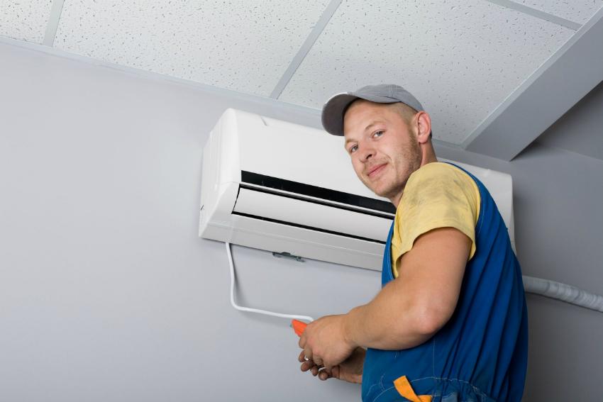 При монтаже и установке кондиционера необходимо учитывать, куда будут направлены потоки воздуха