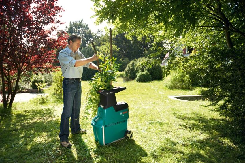 Измельчитель для сада