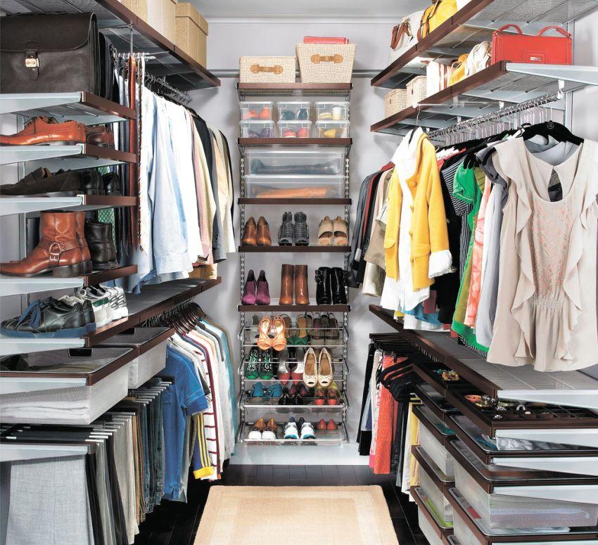 Конструктор для гардеробной производителя Elfa