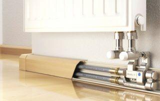 Тепло плинтус: новая эффективная система отопления для вашего дома