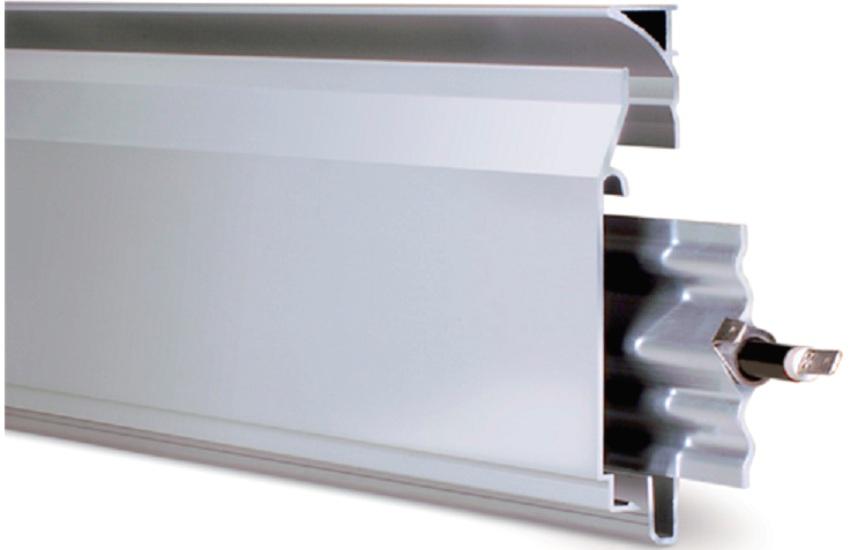 Электрический теплый плинтус - экономный вид отопления