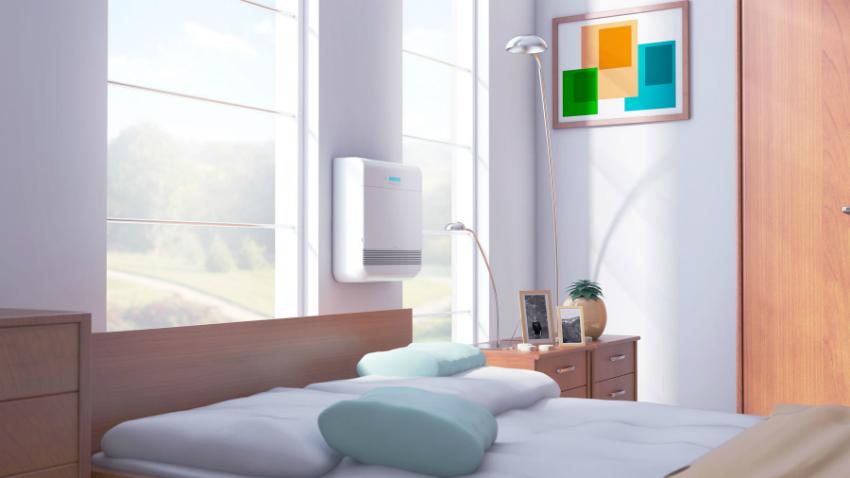 Ультразвуковые увлажнители признаны самыми тихими устройствами, поэтому их удобно использовать в спальне